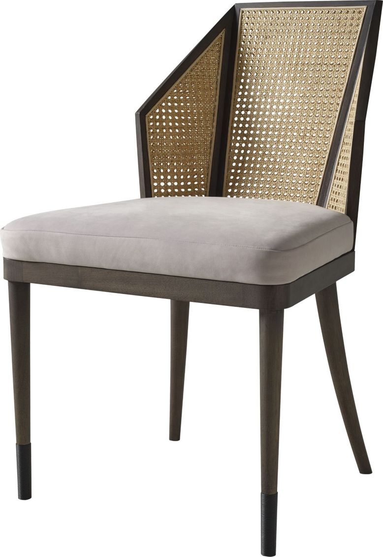 Awesome Cane Side Chair By Kara Mann Mr7040 Baker Furniture Ncnpc Chair Design For Home Ncnpcorg