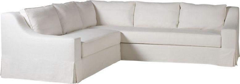 Lax Skirted Sectional By Kara Mann Mr7221 Baker Furniture