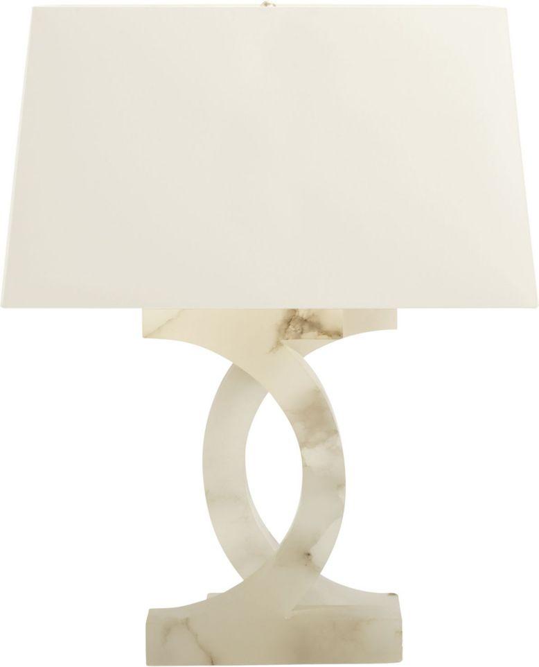 Alabaster Concentric Circles Lamp By Thomas Pheasant Ph206