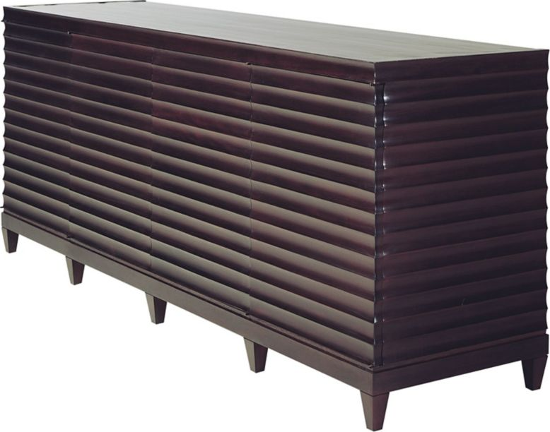 Fluted Low Cabinet By Barbara Barry