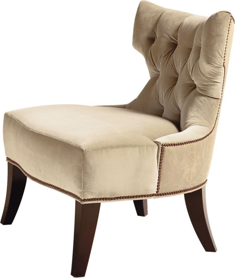 Tufted Back Lounge Chair By Thomas Pheasant Ba6371 Baker Furniture