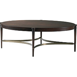 Oval Coffee Table Baker