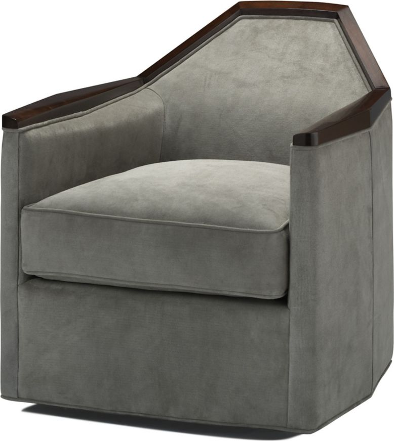 Normandie Swivel Chair By Bill Sofield 6393c Baker