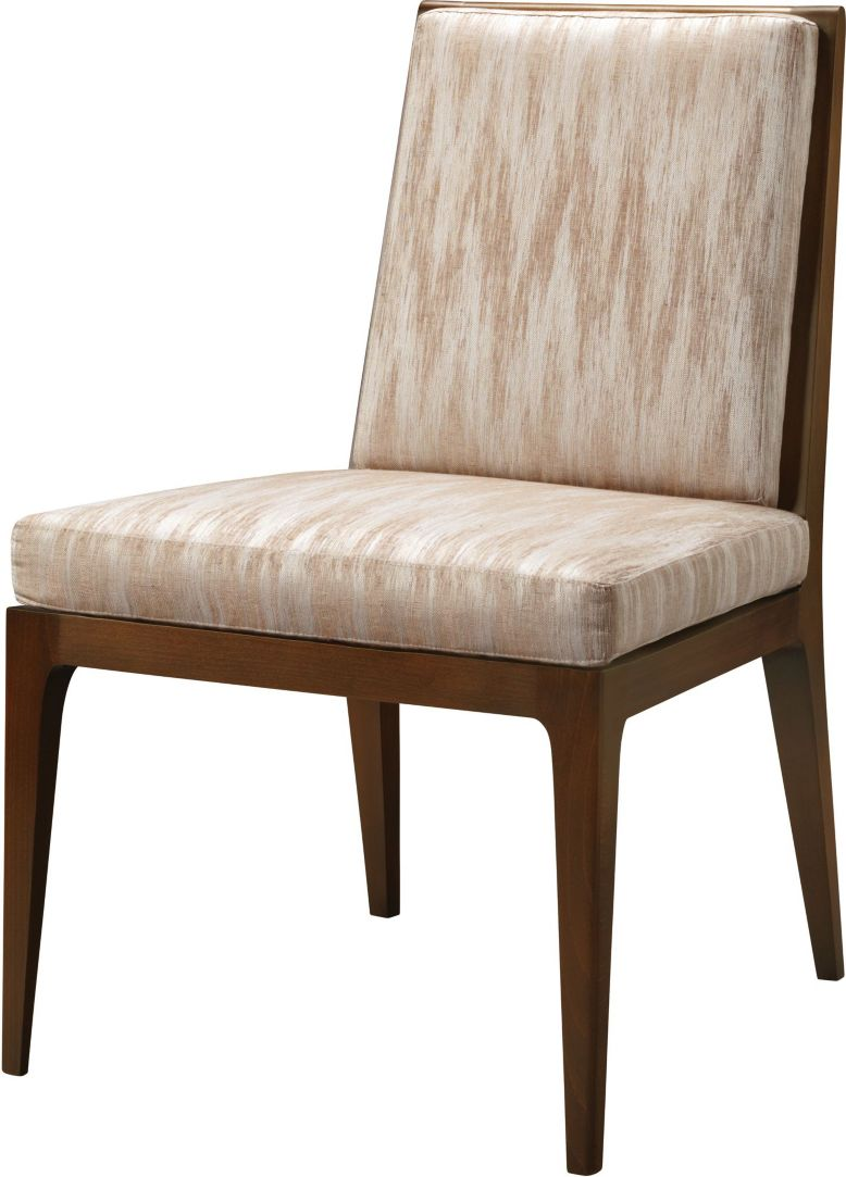 Carmel Upholstered Dining Side Chair By Barbara Barry Ba3642 1 Baker Furniture