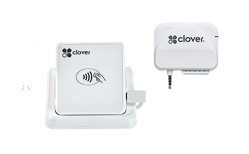 Clover Go is a an entry-level POS device. Take payments and accept signatures on your smartphone or tablet.