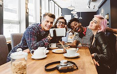 Generation Z restaurant customers using social media
