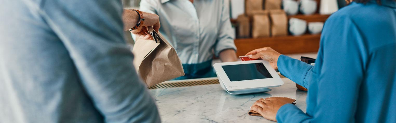 Clover Mini touchscreen POS | Bank of America Merchant Services
