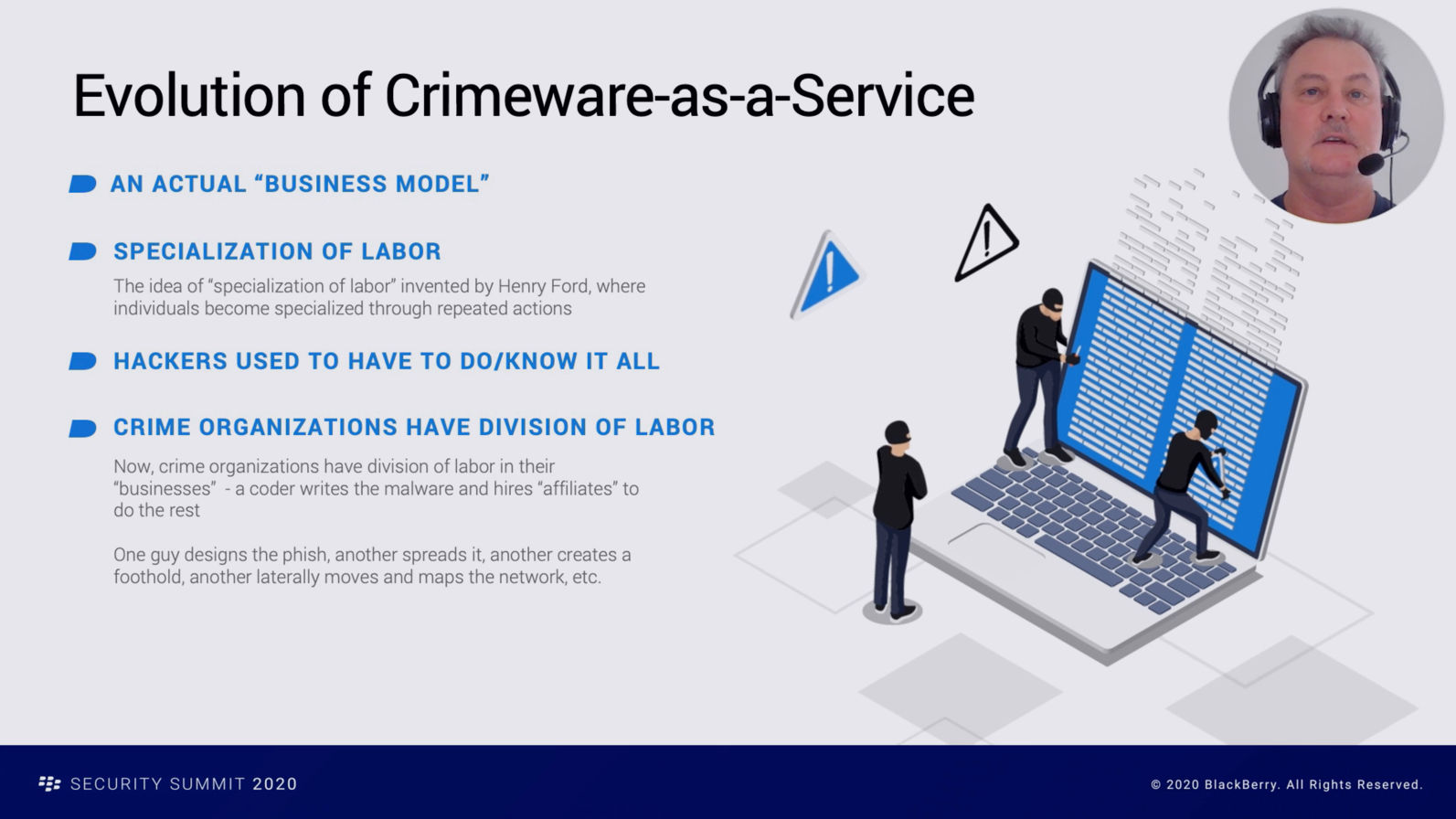 Crimeware as a Service Increases