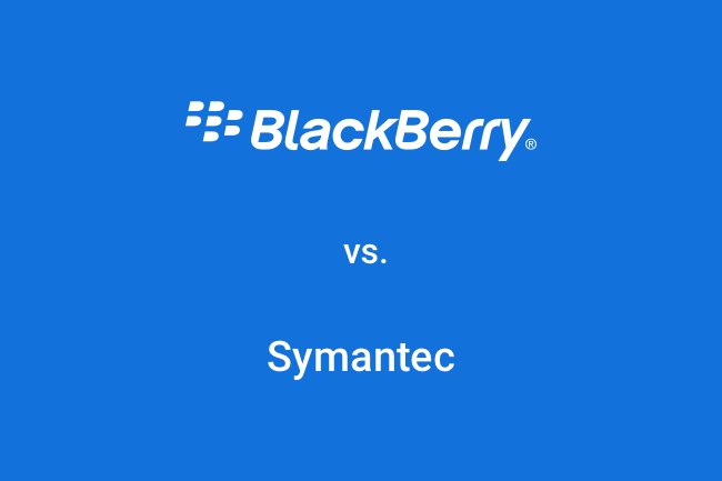 BlackBerry  vs. Symantec