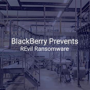 BlackBerry、REvil ランサムウェアを阻止