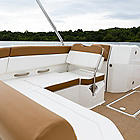 Aft Seating Chestnut Vinyl