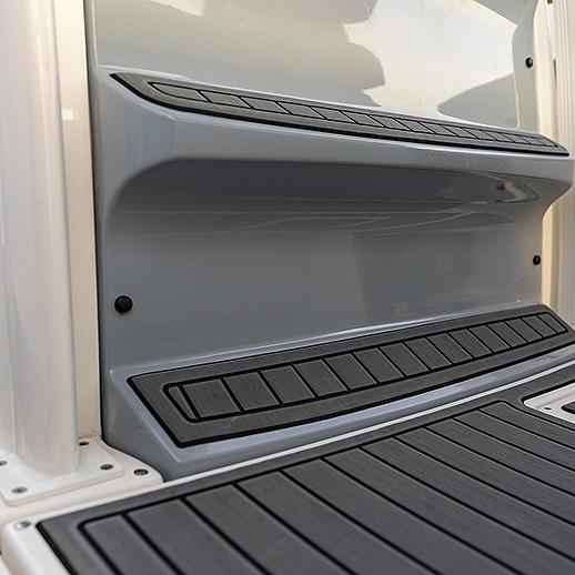 Helm Gray Flooring Mat