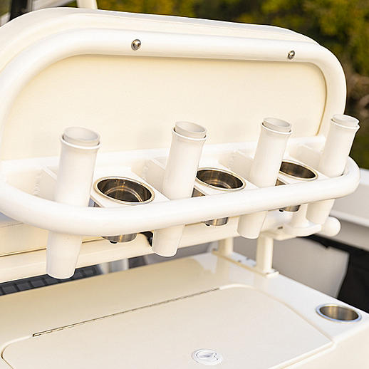 Helm Seat Rod Storage