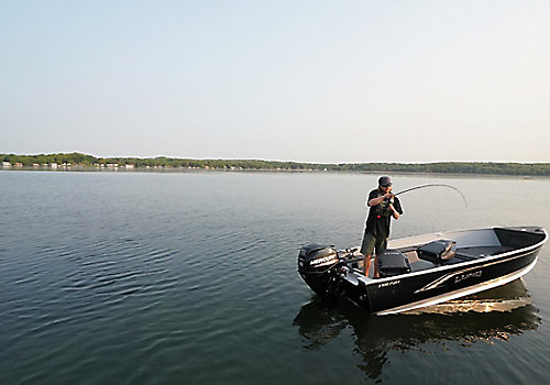 1400 Fury Tiller Fishing