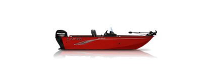 1650 Angler SS - Heritage Red