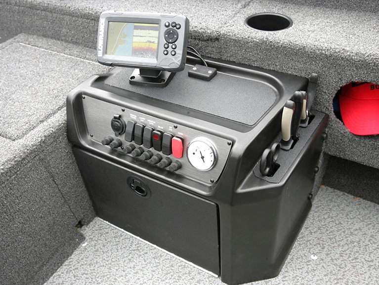 1675-1775 Pro Guide Command Console With Integrated Tool Holder