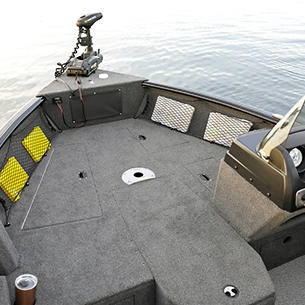 1775 Impact XS SS Bow Deck Storage Compartments Closed