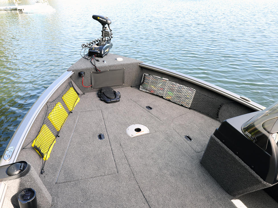 1875 Impact XS SS Bow Deck Storage Compartments Closed