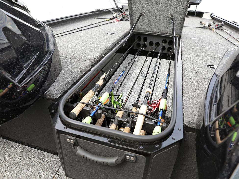 1875-1975 Center Rod Storage Compartment
