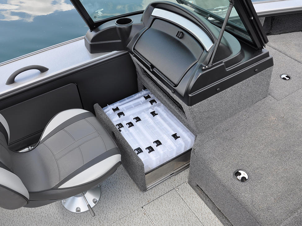 1875-1975 Pro-V Port Under Console Tackle Tray Storage Drawer