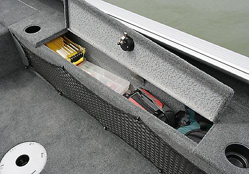 1875-2075 Pro Guide Port Storage compartment Open