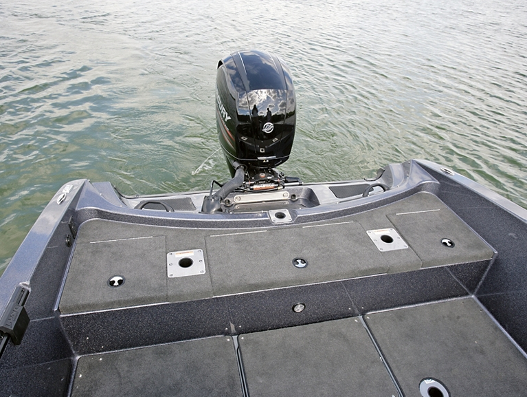 Pro-V GL Aft Storage Compartments Closed