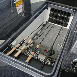 189-Pro-V-GL-Bow-Deck-Center-Rod-Locker-Storage-Compartment