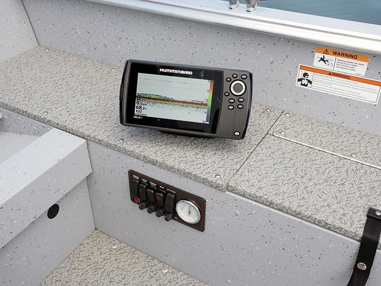 2000 Alaskan Tiller Control Panel