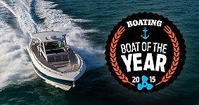 2015 Boat of the Year winner logo