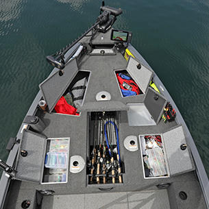 2075 Pro Guide Bow Storage Compartments