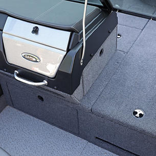 2075-2175 Pro-V Port Console Tackle Tray Storage Drawers Closed