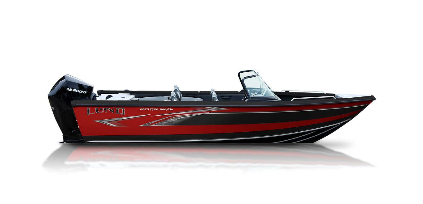 2075 Tyee Magnum - Heritage Red - Black