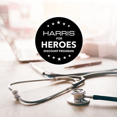Harris for Heroes Discount program4
