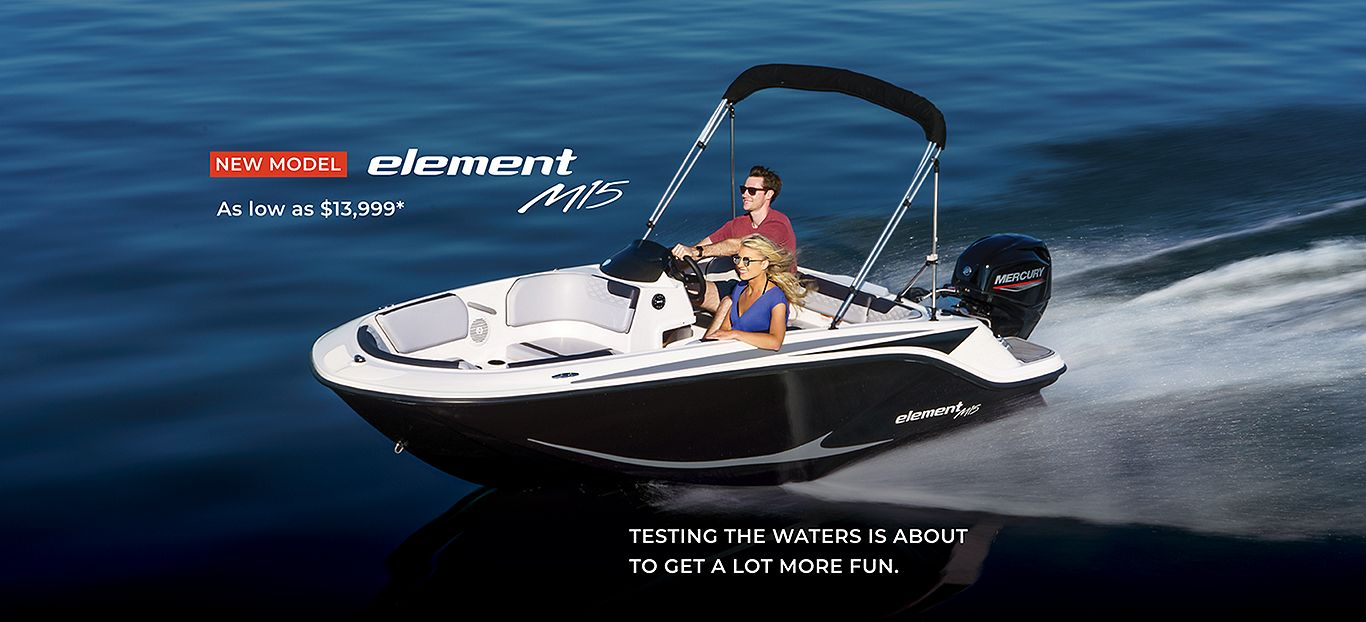 Bayliner new product launch Element M15