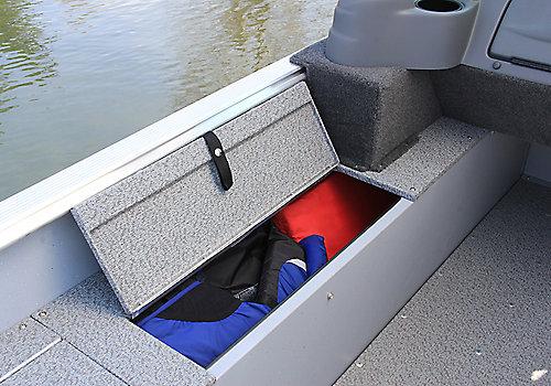Alaskan Sport Port Side Storage Compartment