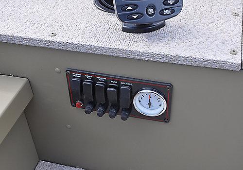 Alaskan Tiller Control Panel