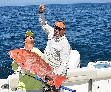 Tangling with Red Snapper