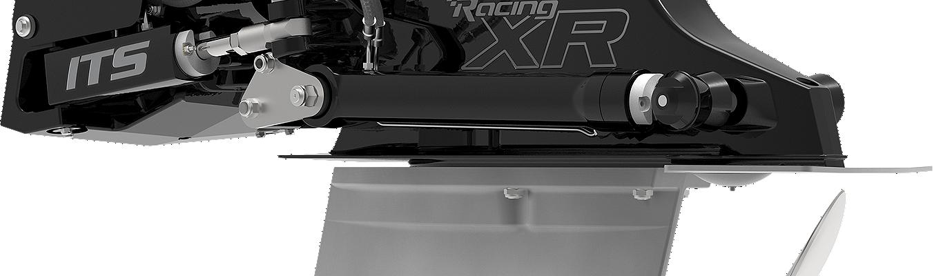 Mercury xr racing Sterndrive Side angle