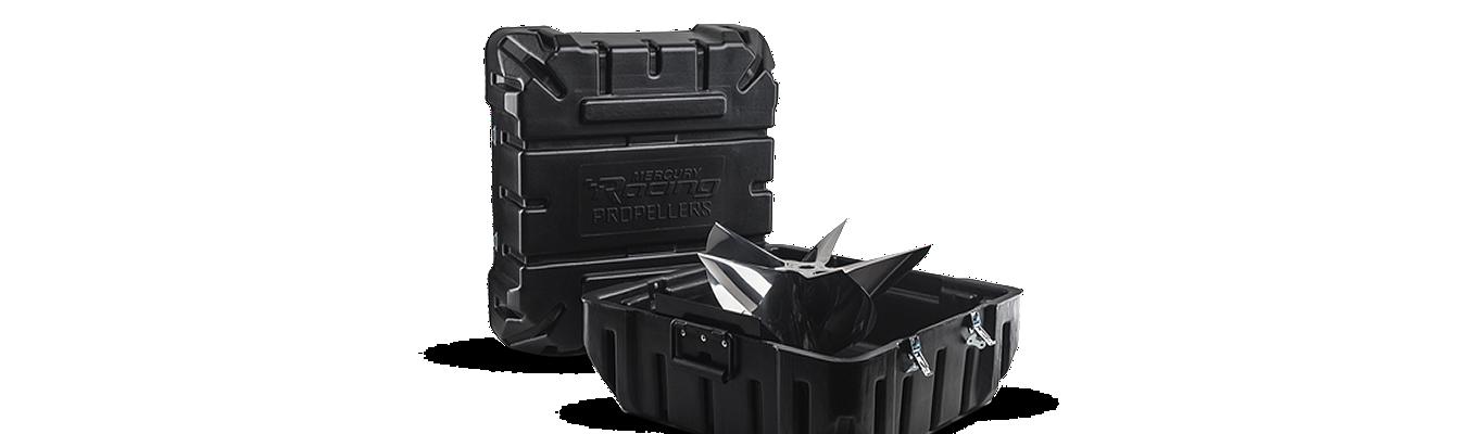 Two Cleaver cases propeller black