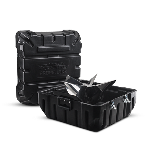 Two Cleaver cases propeller black
