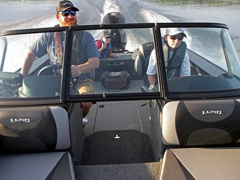 Crossover XS Boat Interior