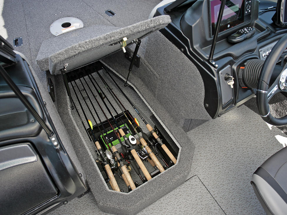 Crossover-XS-Center-Rod-Locker-Storage-Compartment-Open