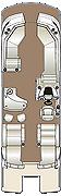 Crowne DLEB 250 Floorplan
