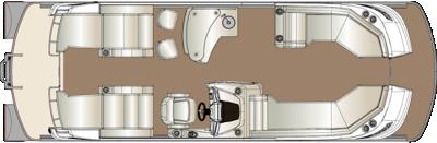 Crowne DLEB 250 Twin Engine Floorplan