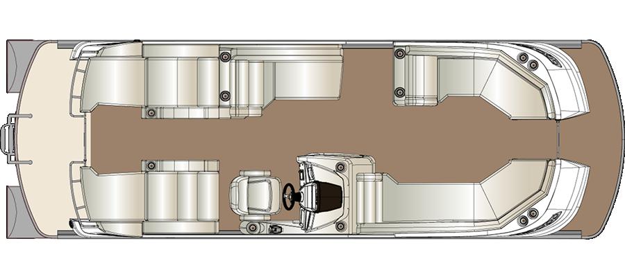 Crowne DL 250 Twin Engine