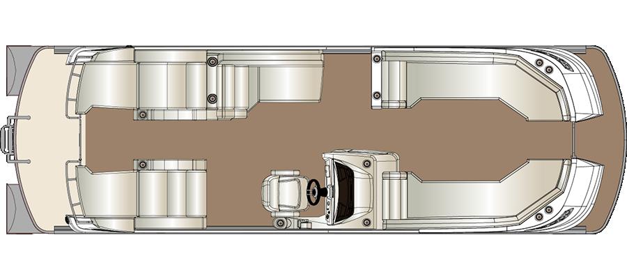 Crowne DL 270 Twin Engine