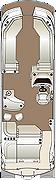 Crowne SLEB 270 Twin Engine Floorplan