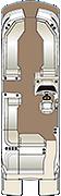 Crowne SL 270 Floorplan