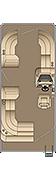 Cruiser CS 210 Floorplan