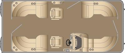 Cruiser CWDH 210 Floorplan